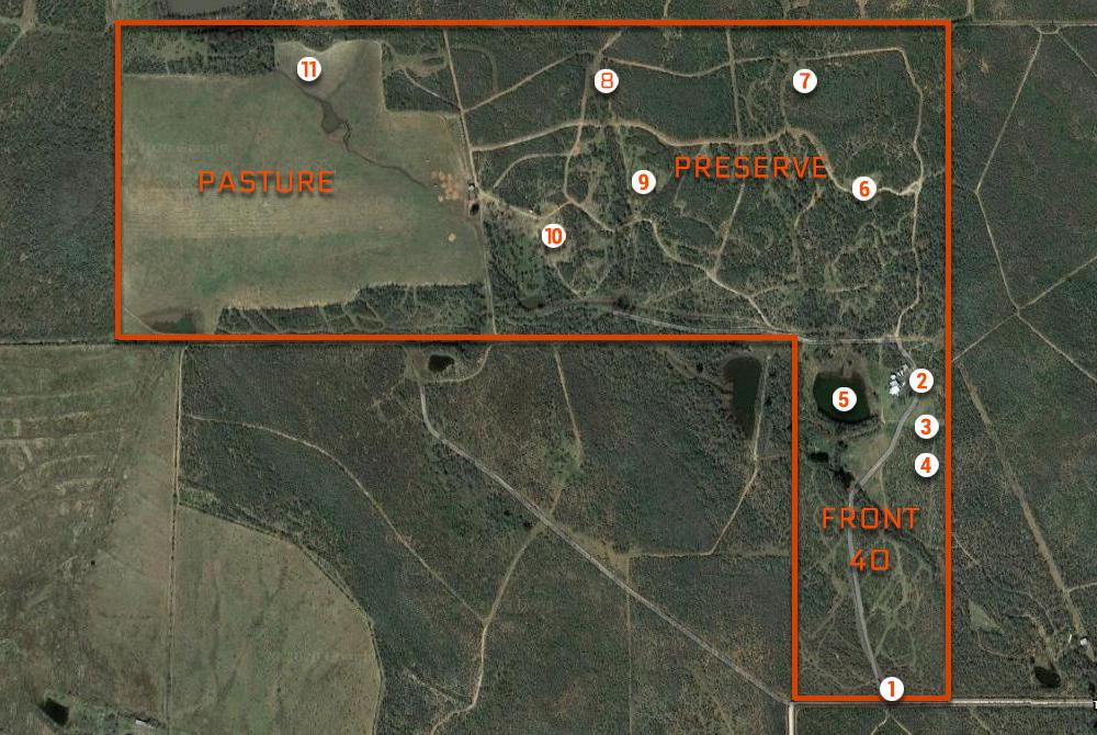 Legacy Ranch Map